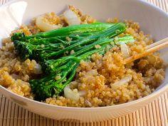Skinny Quinoa Stir-Fry Recipe
