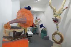 Folkert de Jong - The Primacy of Matter over Thought - Installation view   Galerie Dukan