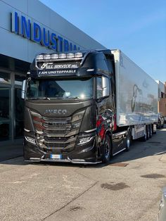 My Dad/'s A Trucker black hoodie kids boy girl Lorry HGV Volvo Scania Iveco