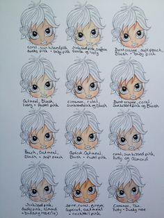 Promarker skin colours