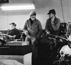 James Dean, family & motorcycles.