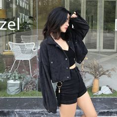 Kpop Fashion Outfits, Edgy Outfits, Korean Outfits, Cute Casual Outfits, Pretty Outfits, Women's Fashion, Female Fashion, Korean Girl Fashion, Korean Fashion Trends