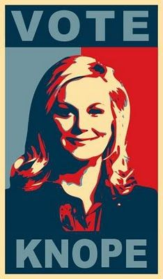 Leslie Knope for president!