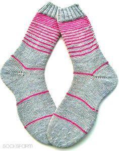 The Fleegle Heel – Sock Patterns and Videos Crochet Socks, Knitting Socks, Hand Knitting, Knit Crochet, Knit Socks, Socks And Heels, My Socks, Knitting Patterns, Crochet Patterns