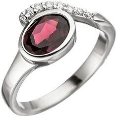 Dreambase Damen-Ring rhodiniert Silber 1 Granat 1 Zirkoni... https://www.amazon.de/dp/B01HHGBQA2/?m=A37R2BYHN7XPNV