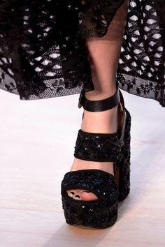 0fab1f2fd603 Sonia Rykiel at Paris Spring 2017 - Details Runway Shoes