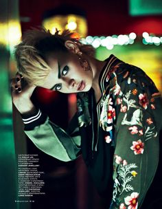 Stef van der Laan by Sebastian Kim for Vogue Russia February 2013