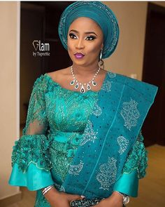 e2d364cbdcbcc4 Beautiful #asoebi #asiebispecial #speciallovers #makeup #wedding Glam  @glam_by_tuprettie African Lace