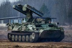 """thepowerofrussianarmy: """" Surface-to-air missile system 9K35 """"Strela-10″army """""""