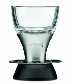 Waring Pro WA100 Professional Wine Aerator, Brushed Stainless Accents