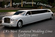 LA Limo provides AFFORDABLE services! Contact LA Limousine Service NOW! Book our beautiful Rolls Royce Limo in Los Angeles and SAVE MONEY! (310)775-3607!