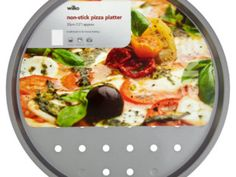 Wilko Non-Stick Pizza Platter 33cm