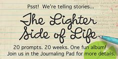 The Lighter Side of Life journal prompts//Lilypad