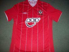 2012 2013 Southampton Home Football Shirt Adults Medium