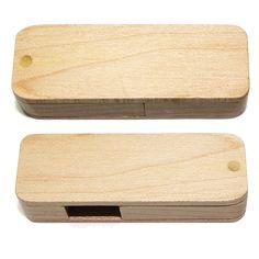 USB Stick WSwivel aus Holz