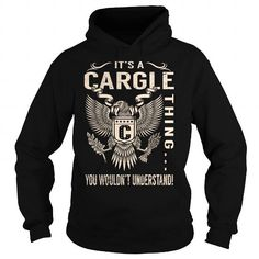 Awesome Tee Its a CARGLE Thing You Wouldnt Understand - Last Name, Surname T-Shirt (Eagle) T-Shirts