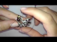 DIY Earrings Peachgold / Orecchini Peachgold con superduo