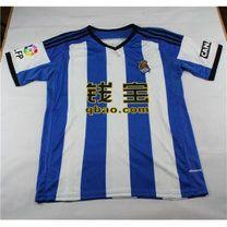 dabc463a996 14-15 Real Sociedad Cheap Home Blue White Replica Jersey 14-15 Real  Sociedad Cheap Home Blue White Soccer jerseys
