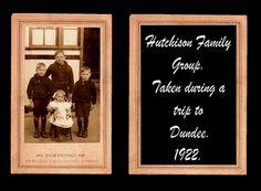 HUTCHISON FAMILY 9 ANDREW STREET, LOCHGELLY.