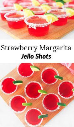 Strawberry Margarita Vegan Jello Shots Wow It S Veggie Recipe In 2020 Vegan Jello Shots Vegan Jello Jello Shot Recipes