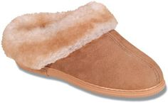 Minnetonka Women's Sheepskin Mule Slipper,Tan,6 M US ** Find out more about the great product at the image link.