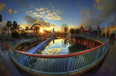 Sunset At Paradise Pier by William McIntosh on 500px