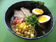 homemade ramen :)  http://thekitchenrunner01.blogspot.ca/ for recipe