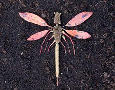 Land Art for Kids - Dragonfly