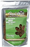 Beef Treats Ingredients: Beef,Dried Chicory Root, Natural Vegetable Glycerin, Sea Salt, Mixed Tocopherols Calories 8oz Sticks Approximately 48 per stick Nutritional Information Crude Protein Not less