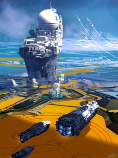 Command tower - Sparth