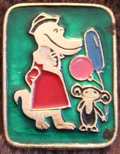 badge cheburashka