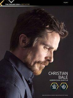 Oscars 2014 Christian Bale Nominado a Mejor actor