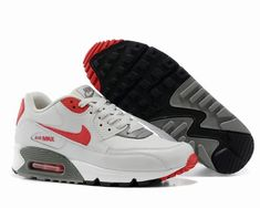 low priced 16f2d 36826 nike air max 90 pas cher,homme air max 90 blanche et rouge