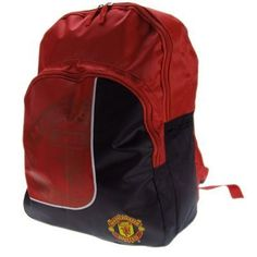 Manchester United Fc Football Club Nylon Backpack School Bag by Manchester United. $28.98. Approx width 30cm x height 40cm x depth 15cm. Official Licensed Product. Nylon Backpack. Manchester United F.C. Nylon Backpack With Zip Up Front Pocket And Side Pockets. Approx Width 30Cm X Height 40Cm X Depth 15Cm. Official Licensed Product