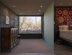Glass Wall partition - look at harware - Lava House / Paul Weiner   DesignBuild Collaborative