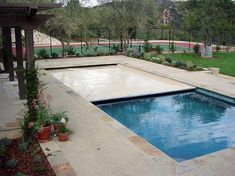 Automatic retractable pool covers you can walk on when you need to. Save water, temperature, and pool chemistry with a safe automatic cover by All-Safe. Best Automatic Pool Cleaner, Automatic Pool Cover, Swimming Pools Backyard, Swimming Pool Designs, Inground Pool Covers, Retractable Pool Cover, Pool Safety Covers, Pool Remodel, Vinyl Pool