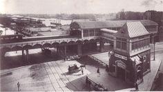 U-Bahn Berlin Stralauer Tor (Osthafen) 1902.