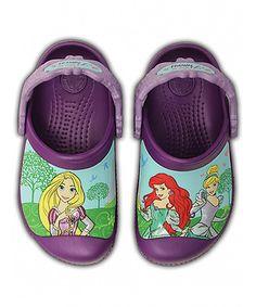 bc5479e980d8b Crocs Amethyst Magical Day Princess Clog - Infant