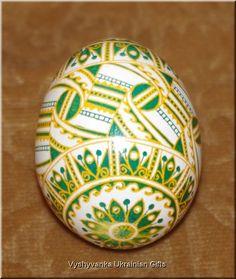 Real Ukrainian Easter Egg Pysanka. Good Quality