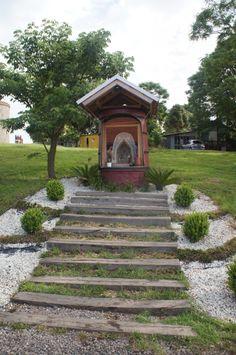 Capelinha da Estação Ferroviária de Bento Gonçalves-Rio Grande do Sul-Brasil  Quero uma assim no meu jardim