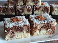 Czech Recipes, My Recipes, Sweet Recipes, Cookie Recipes, Healthy Recipes, Ethnic Recipes, Kefir, Mini Cheesecakes, Sweet Desserts