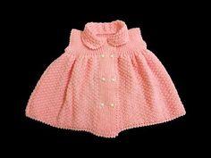 Şiş İşi Örgü Kız Bebek Elbisesi Yapılışı | Hobiler