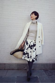 Statistics On Women S Fashion Code: 1297628443 Work Fashion, Urban Fashion, Skirt Fashion, Daily Fashion, Everyday Fashion, Chic Outfits, Fashion Outfits, Womens Fashion, Work Outfits
