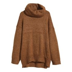 H&M Gold Turtleneck Sweater Gold/Copper colored oversized sweater from H&M. Very warm and only worn once. In perfect condition! H&M Sweaters Cowl & Turtlenecks