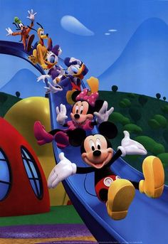 Mickey Mouse Clubhouse Children Television Series