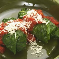 Reminiscent of the stuffed cabbage of yore, the mild flavor of chard makes these beef-stuffed rolls perfect for the whole family. Make It a Meal: A side of whole-wheat spaghetti to soak up the sauce plus a glass of Syrah.