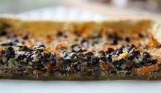 Carrot, Puy Lentil and Parsley Flan