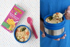 Mac and veggies - Thermos, Ahoy! 15 Yummy Hot Lunch Ideas for Kids - ParentMap