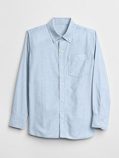 fef80bddd4 Old Navy Boys  Built-In Flex Classic Poplin Shirt Just Peachy ...