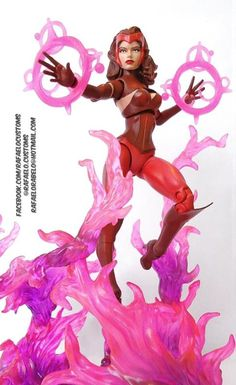 Scarlet Witch (Uncanny Avengers costume) (Marvel Legends) Custom Action Figure